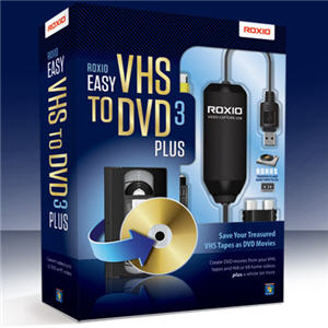 roxio easy vhs to dvd new version adds vinyl conversion. Black Bedroom Furniture Sets. Home Design Ideas