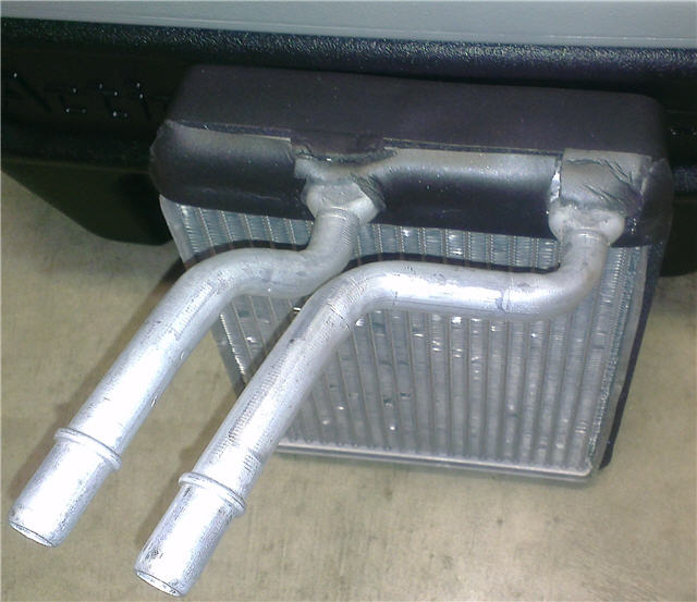 1998 ford f150 heater core and evaporator core replacement 1998 Ford Expedition Heater Hose Diagram 1998 ford f150 heater core wrapped with ameriseal part 11140 as substitute for foam seal no