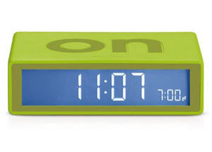 lexon flip on-off alarm clock