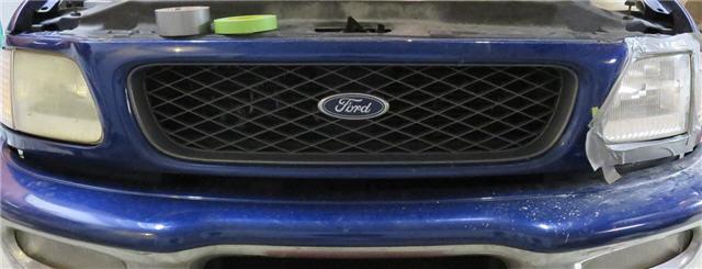 Ford F150 Headlight Restoration - Drivers Side Done