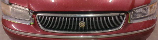 chrysler minivan headlight restoration - before and after - 2 - trimmed